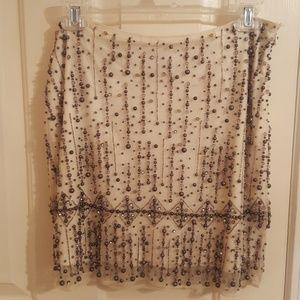 Gorgeous beaded skirt.